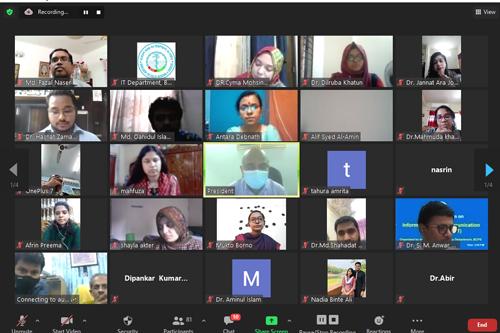Virtual ICT Training Program (30May-02 June, 2021)