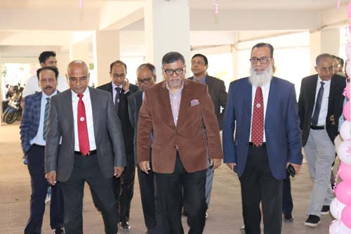 Mr. Zahid Maleque M.P, Honorable Minister, Ministry of Health and Family Welfare (MOHFW) visit the departments of BCPS and joint in a meeting with the Councillors and Past President's of the College on 2nd December 2019
