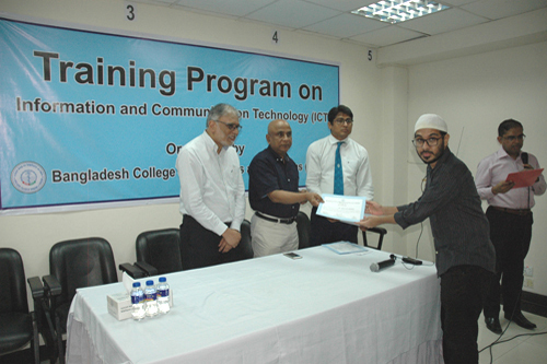 3-Day Training Program on ICT (7-9 September, 2019)
