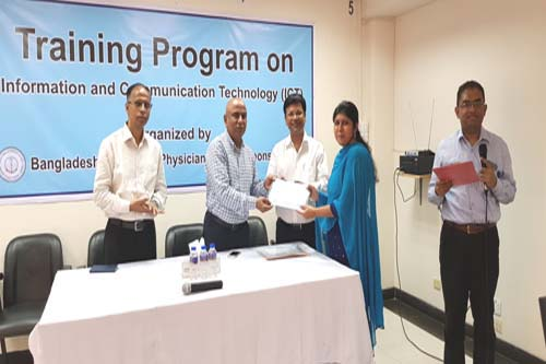 3-Day Training Program on ICT (16-18 November, 2019)