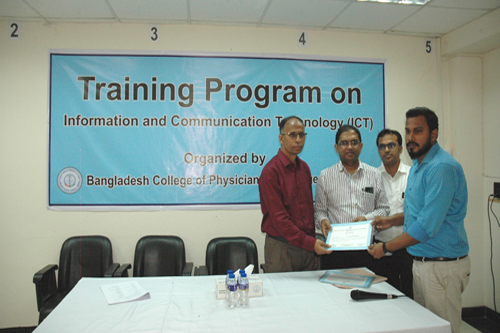 3-Day Training Program on ICT (02-04 November, 2019)