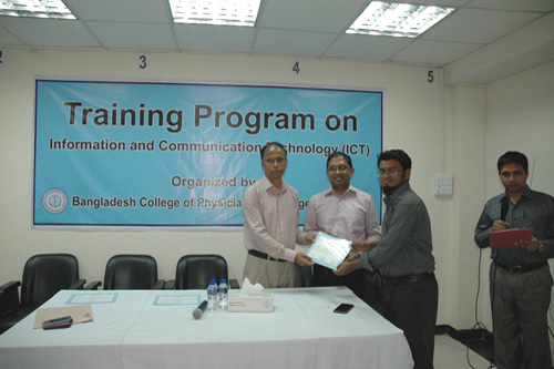 3-Day Training Program on ICT (14-16 October, 2019)
