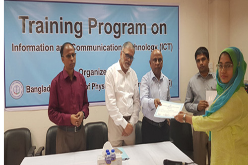 3-Day Training Program on ICT (19-21 October, 2019)
