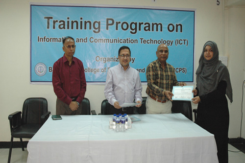 3-Day Training Program on ICT (26-28 October, 2019)