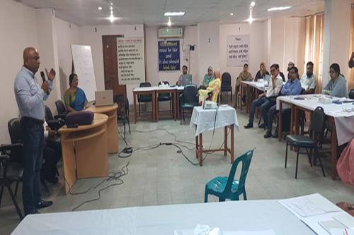 Skill Development on Construction of SBA (12-10-2019)