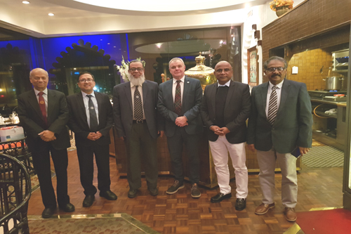 President, Royal College of Physicians of London with President and Councillors of BCPS