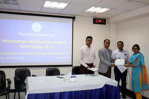 3-Day Training Program on ICT (14-16 March, 2020)