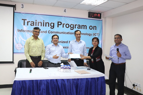 3-Day Training Program on ICT (22-24 February, 2020)
