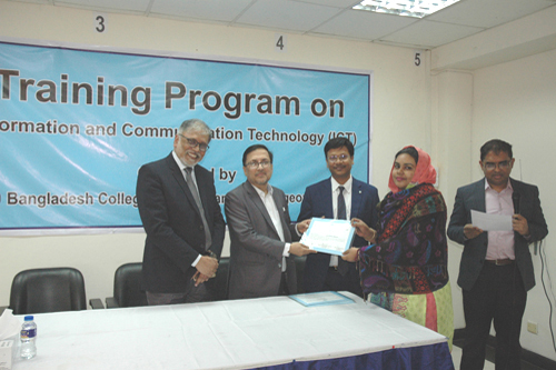 3-Day Training Program on ICT (8-10 February, 2020)