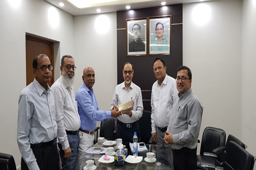 Courtesy Meeting with Health Secretary(Education) and Health Secretary (Services) on 12 September, 2019