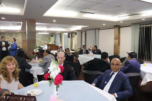 President Dinner, Dhaka Club